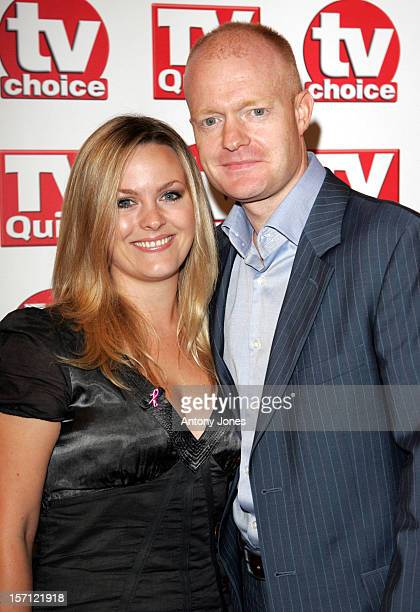 Jo Joyner Jake Wood Attend The 2007 Tv Quick Tv Choice Awards In London