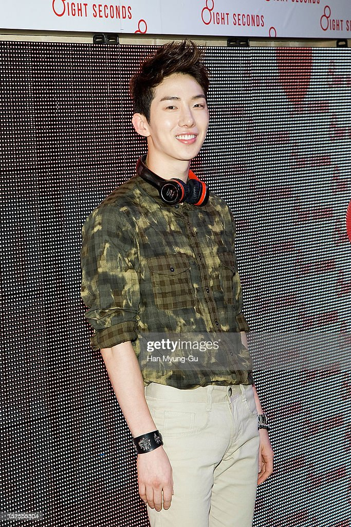 Jo Kwon of South Korean boy band 2AM attends the '8ight Seconds' Store Opening at Gangnam 8ight Seconds store on September 21, 2012 in Seoul, South Korea.