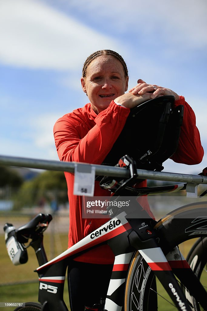 Jo Lawn of New Zealand poses for a portrait prior to the Challenge Wanaka on January 18, 2013 in Wanaka, New Zealand.