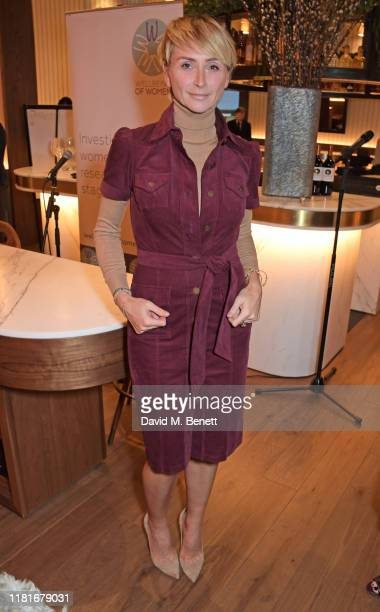 Jo Manoukian attends a lunch hosted by Amanda Staveley for 'Wellbeing Of Women', Britain's foremost female health charity investing in pioneering...