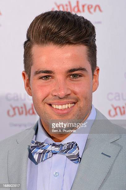Jo McElderry attends The Butterfly Ball A Sensory Experience in aid of the Caudwell Children's charity at Battersea Evolution on May 16 2013 in...