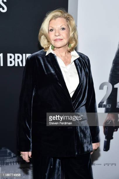 Jo Miller attends 21 Bridges New York Screening at AMC Lincoln Square Theater on November 19 2019 in New York City