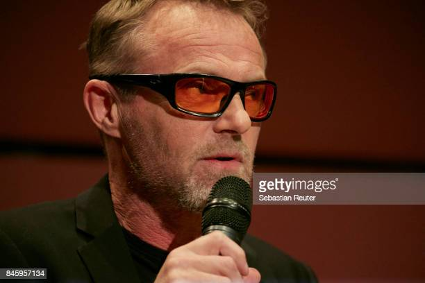 Jo Nesbo attends a press conference at Nordische Botschaften on September 12 2017 in Berlin Germany