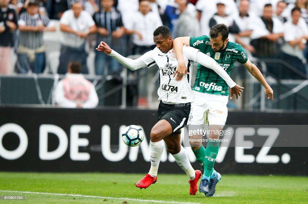 Corinthians v Palmeiras - Brasileirao Series A 2017 : ニュース写真