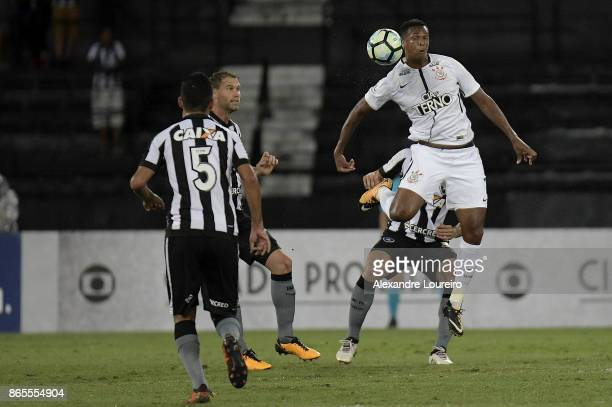 Jo of Corinthians in action during the match between Botafogo and Corinthians as part of Brasileirao Series A 2017 at Engenhao Stadium on October 23...