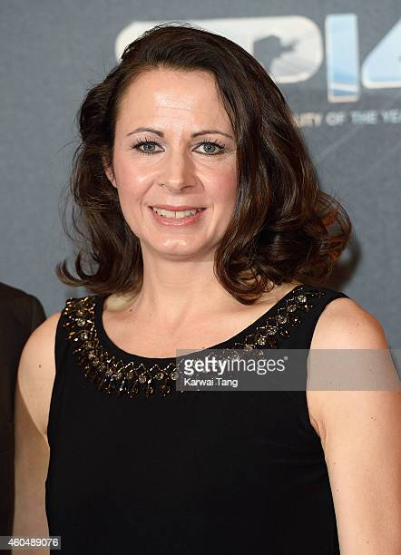 Jo Pavey attends the BBC Sports Personality of the Year awards at The Hydro on December 14 2014 in Glasgow Scotland