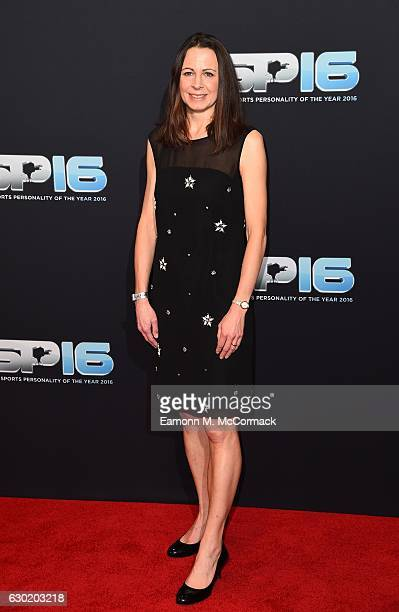Jo Pavey attends the BBC Sports Personality Of The Year on December 18 2016 in Birmingham United Kingdom
