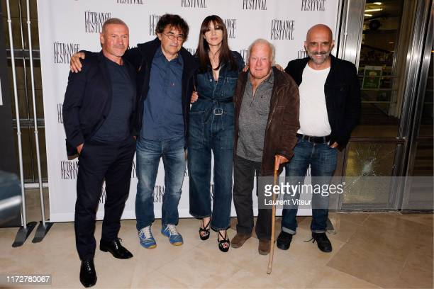 Jo Prestia Albert Dupontel Monica Bellucci Philippe Nahon and Gaspar Noé attend the Irreversible Special Screening During The L'Etrange Festival At...