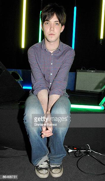 Jo Rose poses offstage at Channel M's 'City Life Social Session' at Urbis on May 6, 2009 in Manchester, England.