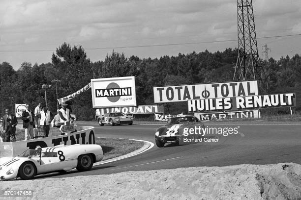 Jo Siffert Dan Gurney Innes Ireland Maserati Tipo 65 Shelby Cobra Daytona Coupe Ford GT40 24 Hours of Le Mans Le Mans 20 June 1965