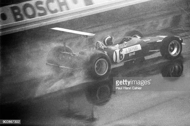 Jo Siffert LotusFord 49B Grand Prix of Germany Nurburgring 04 August 1968