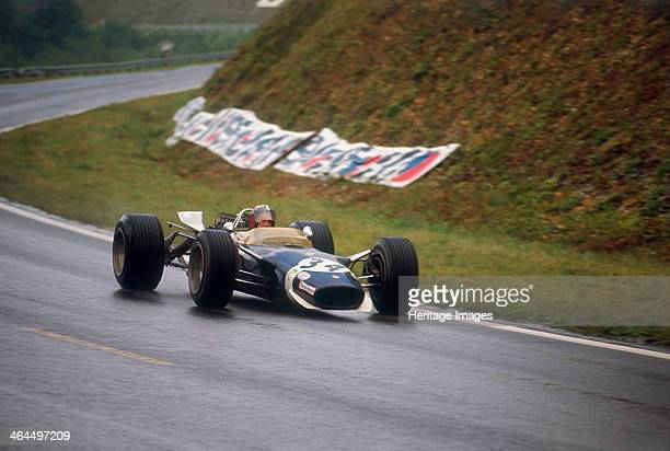 Jo Siffert's LotusFord French Grand Prix Rouen 1968 Swiss driver Siffert finished this race which was marred by a fatal crash suffered by Jo...
