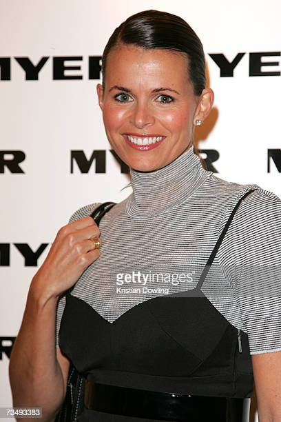 Jo Silvagni attends the Myer Winter 07 Fashion Launch as part of L'Oreal Melbourne Fashion Festival 2007 at the MYER Mural Hall on March 5 2007 in...