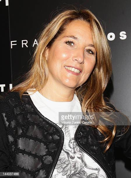 Jo Squillo attends the Fratelli Rossetti Cocktail Party on May 8 2012 in Milan Italy