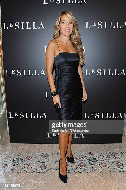 Jo Squillo attends the Le Silla Presentation as part of Milan Fashion Week Womenswear Spring/Summer 2014 on September 21 2013 in Milan Italy