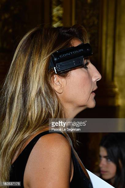Jo Squillo attends the Stella McCartney show as part of the Paris Fashion Week Womenswear Spring/Summer 2014 at Palais Garnier on September 30 2013...
