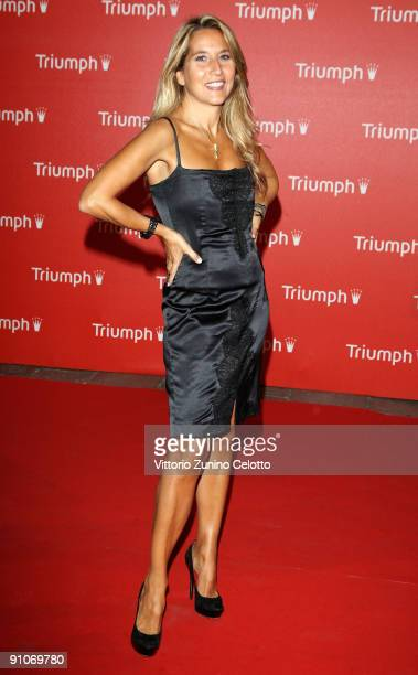 Jo Squillo attends the Triumph Inspiration Awards 2009 as part of Milan Womenswear Fashion Week Spring/Summer 2010 at the Triennale di Milano on...