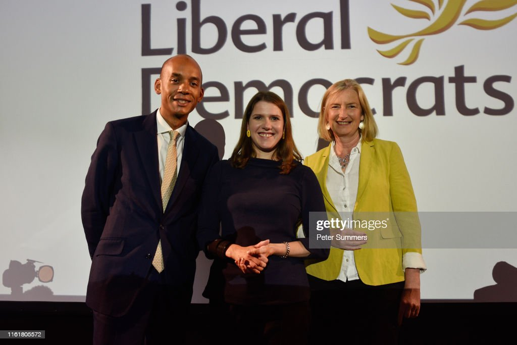 Jo Swinson Delivers First Speech As Leader Of The LibDems : News Photo