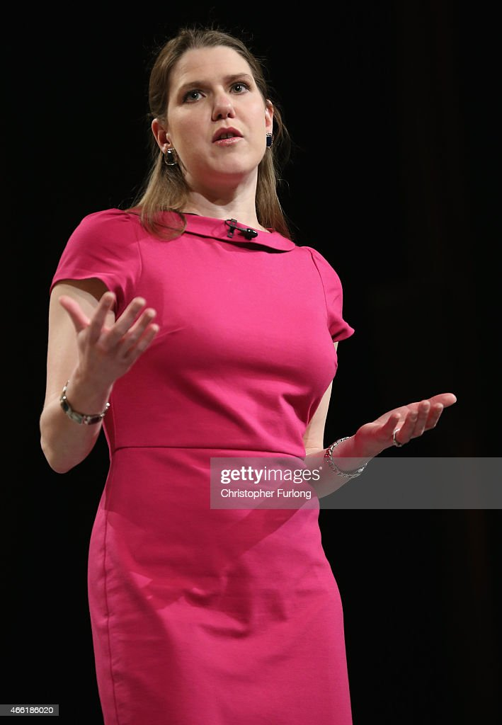 Jo Swinson MP, Under Secretary of State for Women and Equalities, delivers her keynote speech to delegates during party's spring conference at the ACC on March 14, 2015 in Liverpool, England. Deputy Prime Minister Nick Clegg confirmed today that Mental health services in England will receive £1.25bn in next week's Budget.