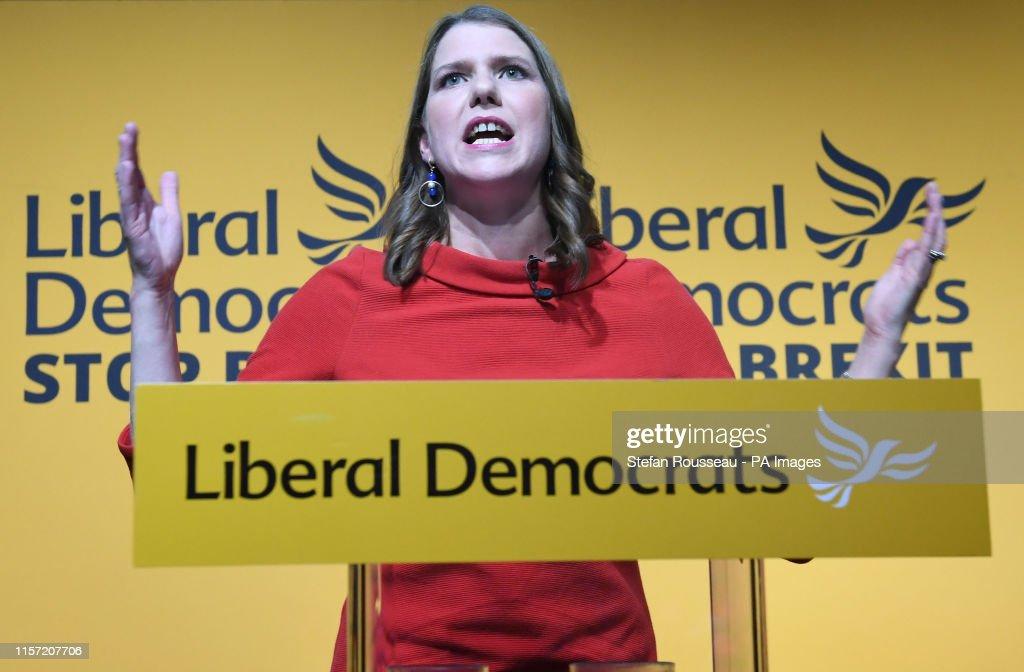 New Liberal Democrat leader : News Photo