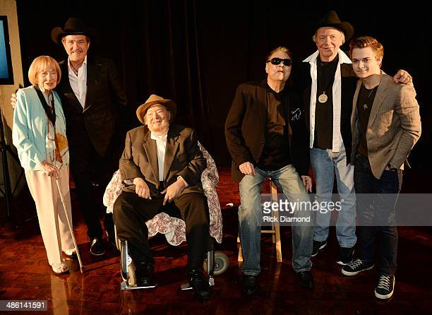 Jo Walker Meader Former CMA executive director Synciated Radio host Kix Brooks CMHOF Members Mac Wiseman Ronnie Milsap Bobby Bare and...
