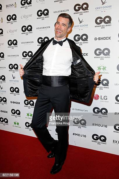 Jo Weil arrives at the GQ Men of the year Award 2016 at Komische Oper on November 10 2016 in Berlin Germany