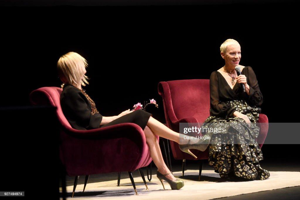 Annie Lennox - An Evening Of Music And Conversation - Show : Nachrichtenfoto