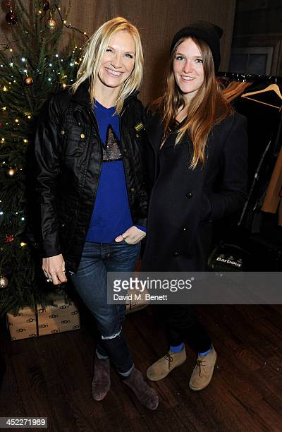 Jo Whiley and daughter India WhileyMorton attend the launch of the UGG Christmas Grotto at Duke of York Square on November 27 2013 in London England
