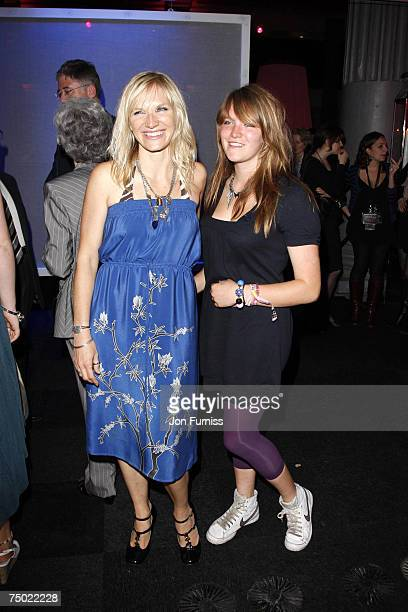 Jo Whiley and her daughter India Whiley attend the after party following the European premiere of Harry Potter And The Order Of The Phoenix at the...