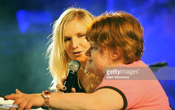 Jo Whiley and Sister Frances host Mencap's Little Noise Sessions on November 24, 2009 in London, England.