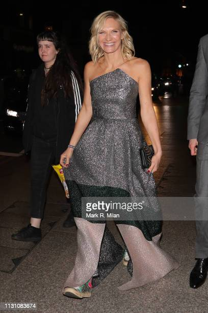 Jo Whiley attending the Sony BRITS 2019 After Party at Aquashard on February 20 2019 in London England