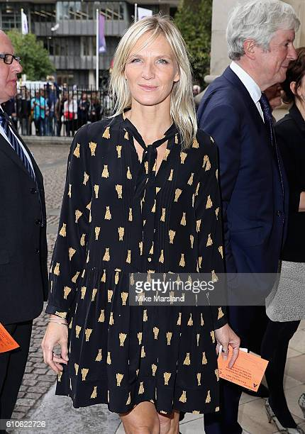 Jo Whiley attends a memorial service for the late Sir Terry Wogan at Westminster Abbey on September 27 2016 in London England