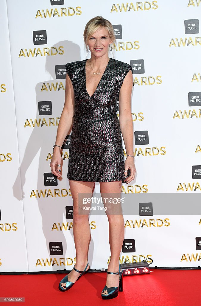 Jo Whiley attends the BBC Music Awards at ExCel on December 12, 2016 in London, England.