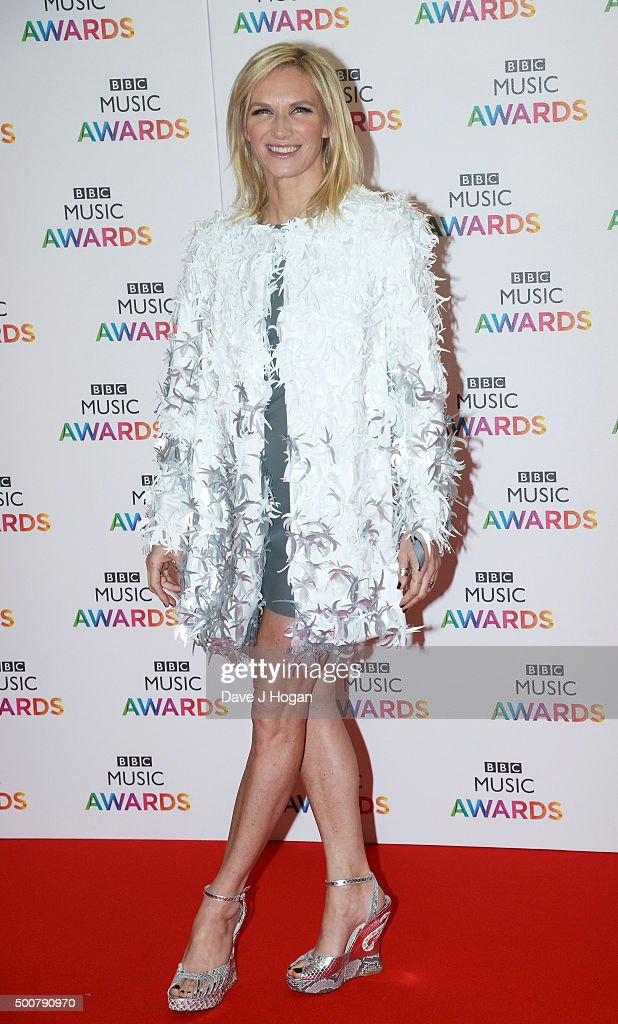 Jo Whiley attends the BBC Music Awards at Genting Arena on December 10, 2015 in Birmingham, England.