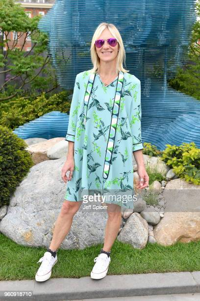 Jo Whiley attends the Chelsea Flower Show 2018 on May 21 2018 in London England