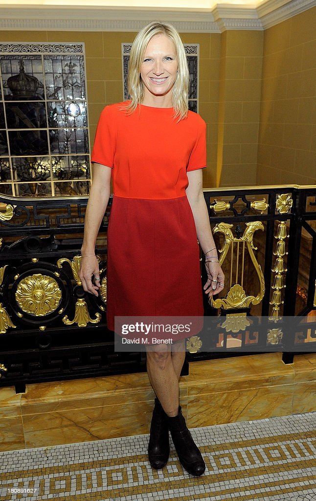 Jo Whiley attends the Marie Claire 25th birthday celebration featuring Icons of Our Time in association with The Outnet at the Cafe Royal Hotel on September 17, 2013 in London, England.