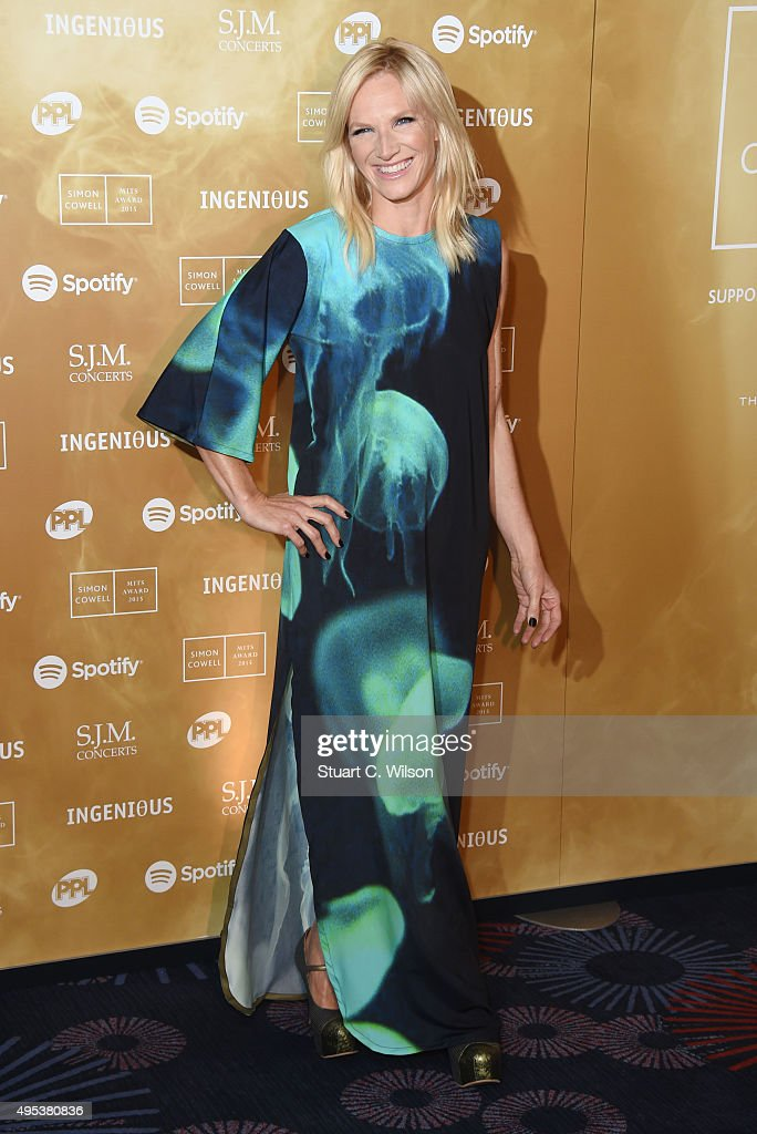 Jo Whiley attends the Music Industry Trust Awards at The Grosvenor House Hotel on November 2, 2015 in London, England.