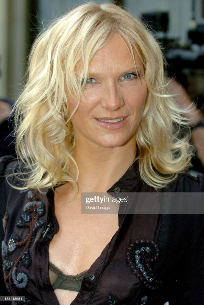 Jo Whiley during 2005 Nationwide Mercury Music Prize at Grosvenor House in London, Great Britain.