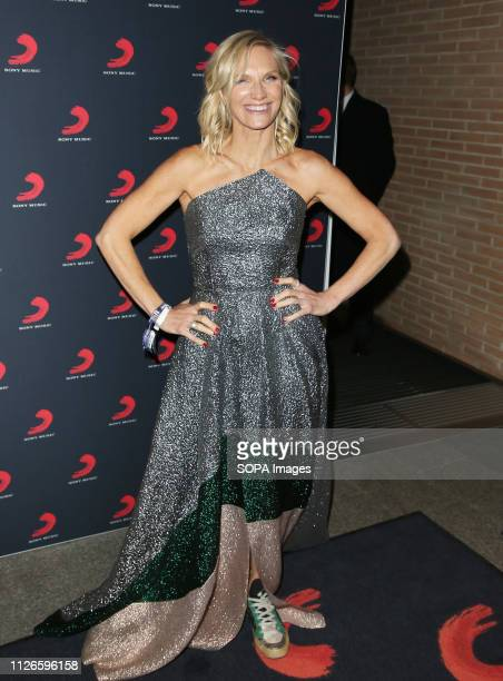 Jo Whiley seen at the Sony Music After Party for The Brit Awards 2019 at The Shard in London