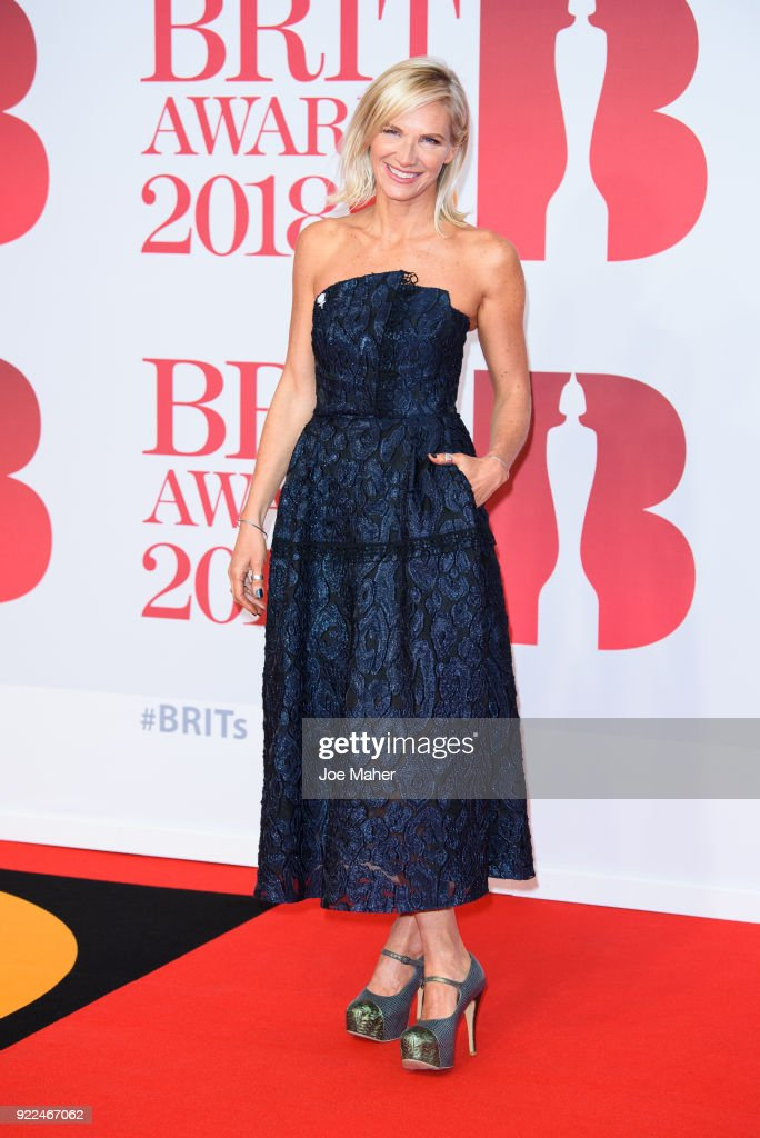 The BRIT Awards 2018 - Red Carpet Arrivals : Fotografía de noticias
