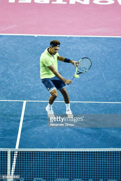 Jo Wilfried Tsonga of France during the Open Sud of France ATP Montpellier on February 8 2018 in Montpellier France