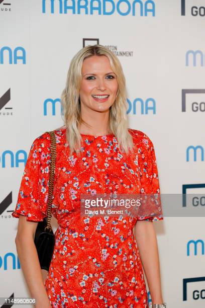 Jo Wilson attends a gala screening of Diego Maradona at the Picturehouse Central on June 10 2019 in London England