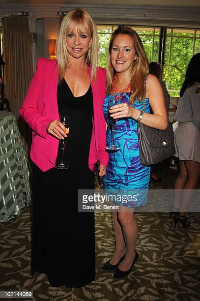 Jo Wood and Closer Magazine's Katie Banks attend the English National Ballet Cocktail Reception at The Dorchester on June 15 2010 in London England