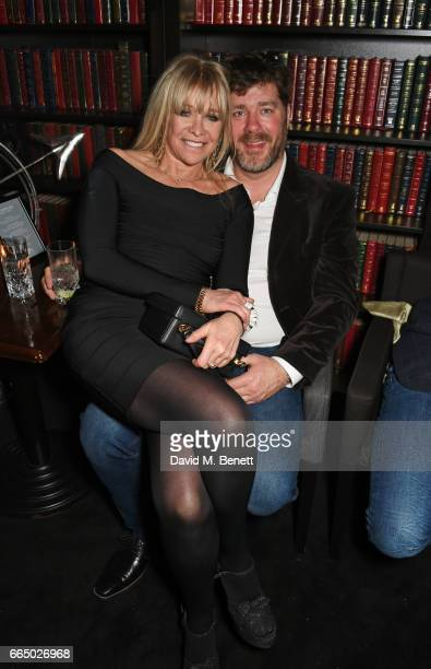 Jo Wood and Paul Scarborough attend 'Keep Live Music Alive In Soho' presented by Copper Dog at The Piano Bar Soho on April 5 2017 in London England