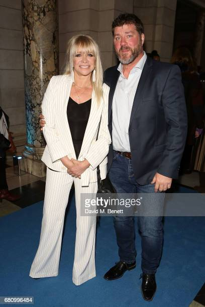Jo Wood and Paul Scarborough attend the 'Pink Floyd Their Mortal Remains' Gala Night at The VA on May 9 2017 in London United Kingdom