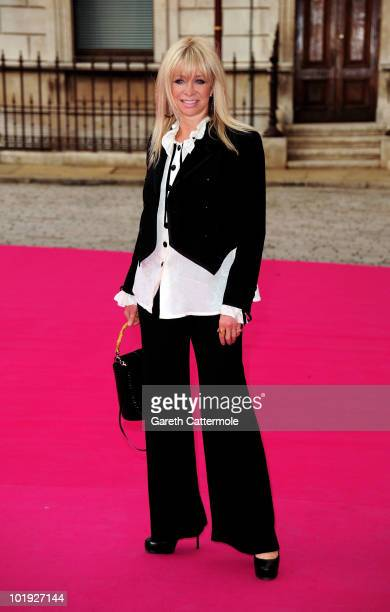 Jo Wood arrives at the 2010 Royal Academy Summer Exhibition VIP private view on June 9 2010 in London England