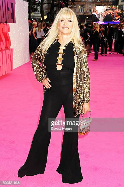 Jo Wood arrives for the world premiere of 'Bridget Jones's Baby' at Odeon Leicester Square on September 5 2016 in London England