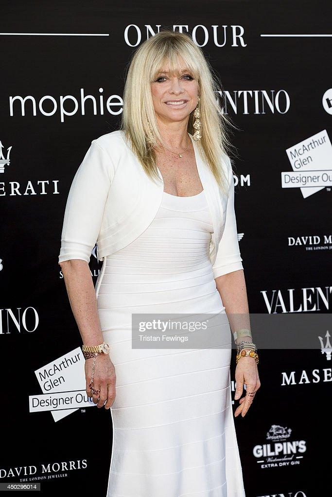 Jo Wood attends a gala dinner and auction to celebate the end of the Cash & Rocket tour at Natural History Museum on June 8, 2014 in London, England.