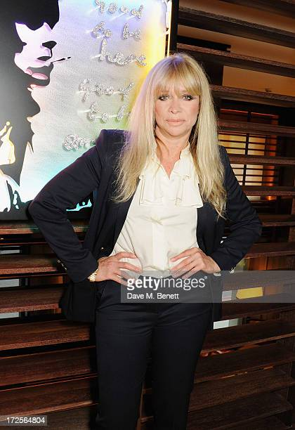 Jo Wood attends Christian Furr and Chris Bracey 'Staying Alive' Private View at 45 Park Lane on July 3 2013 in London England