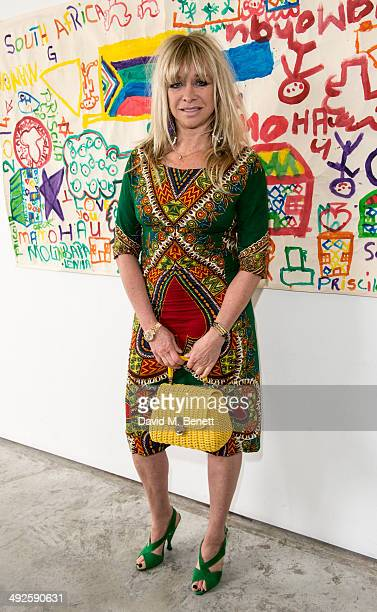 Jo Wood attends the ASAP African Solutions to African Problems private lunch at the Louise T Blouin Foundation on May 21 2014 in London England